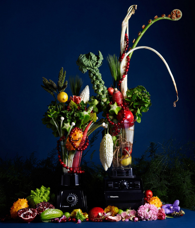 Spring-Inspired Campaign of Appliances and Flowers (6 pics)