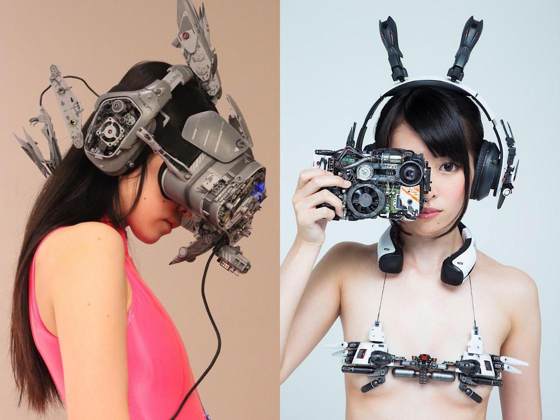 Cyberpunk – Les impressionnantes creations de Hiroto Ikeuchi (25 pics)