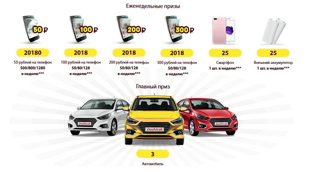Акция Доширак 2018 на doshirak2018.i-actions.ru