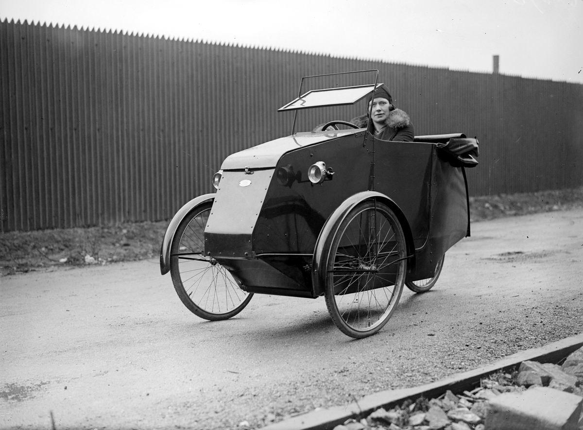 Ее любимая тачка: Британский дамский веломобиль (1930 год)