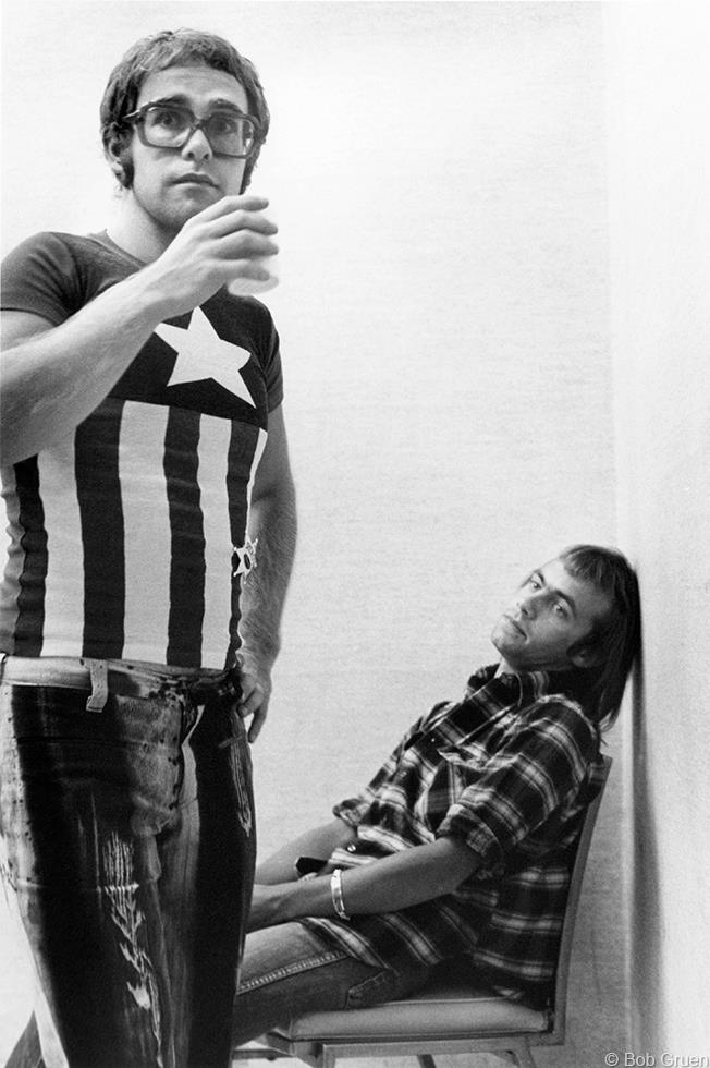 1971. Элтон Джон и Берни Топин