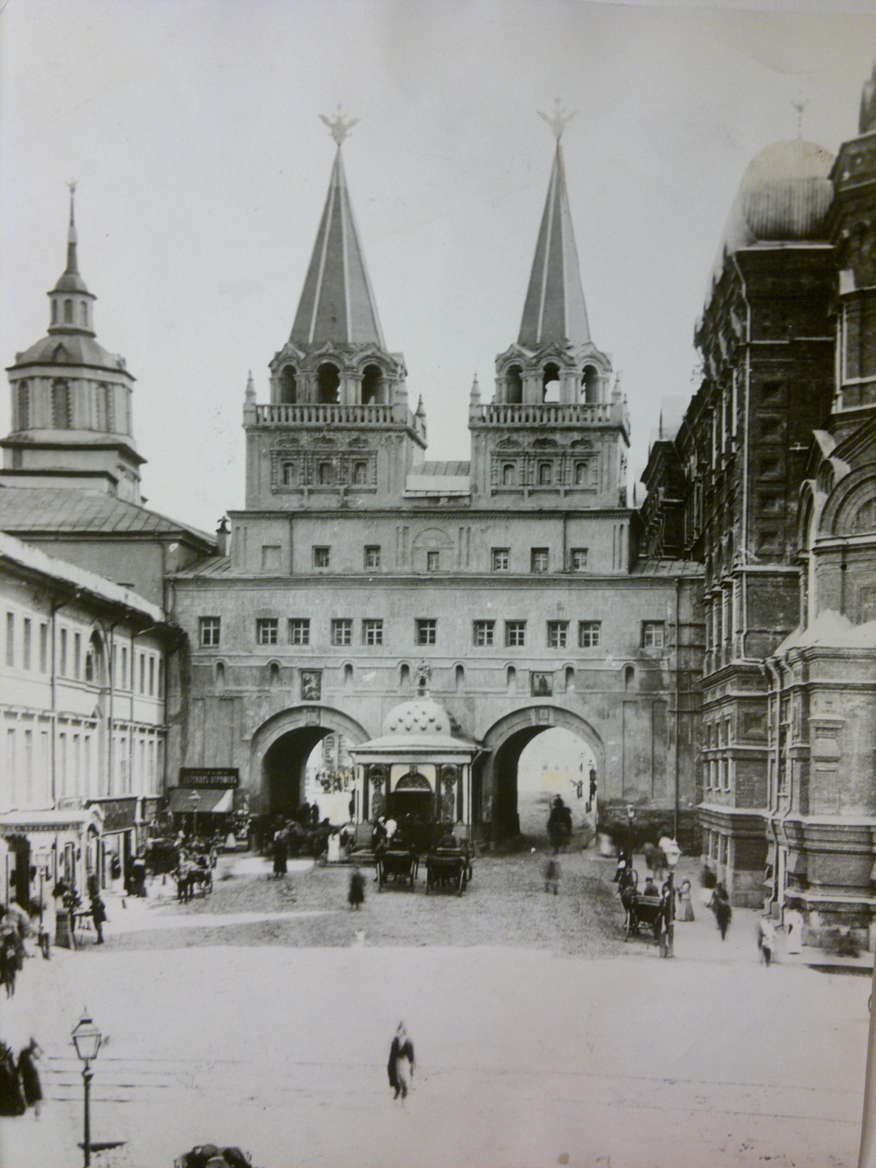 Воскресенские ворота Китай-города