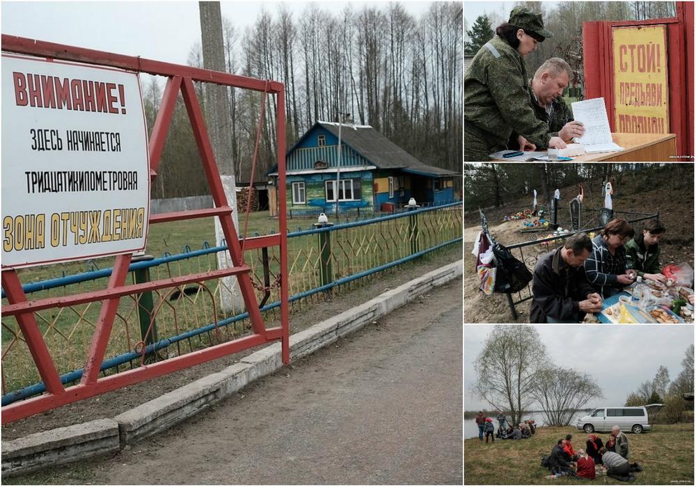 Весна и кресты: репортаж из мертвой деревни, которая иногда оживает