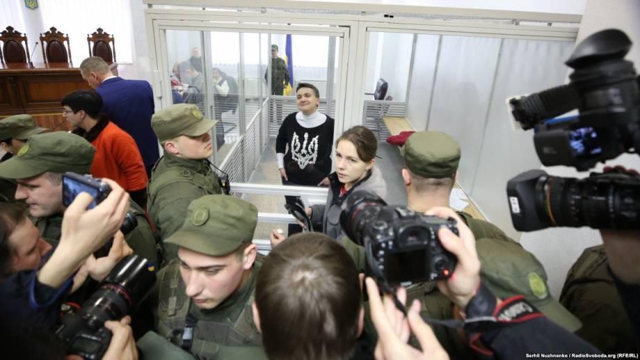Апелляционный суд отказал Савченко в отводе судей