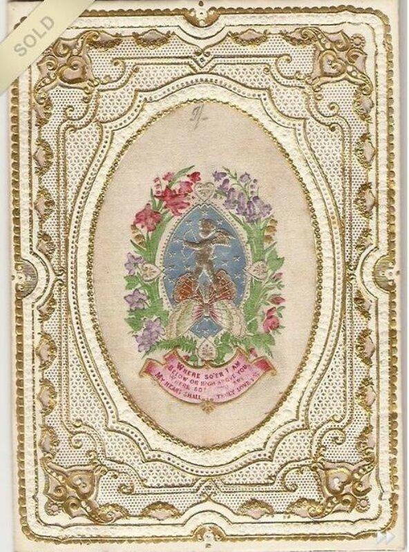 старинные кружевные открытки сундук старинные времена