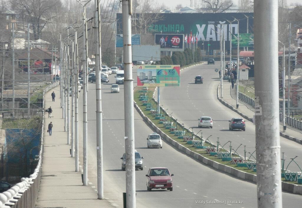 Улица Абдикадирова, город Ош