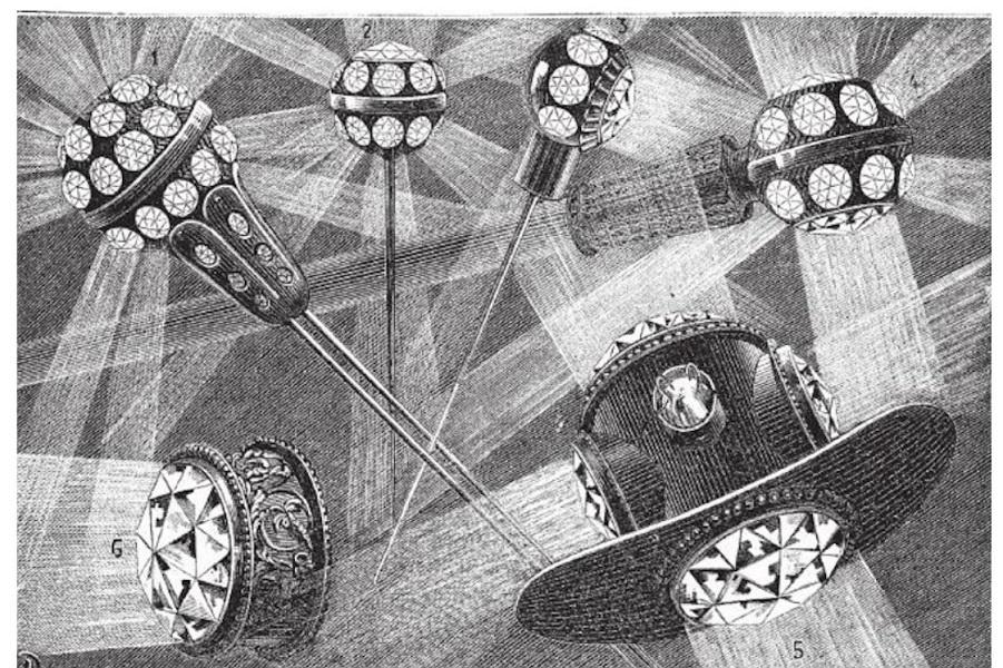 Электрические ювелирные украшения и забытый гений Парижа
