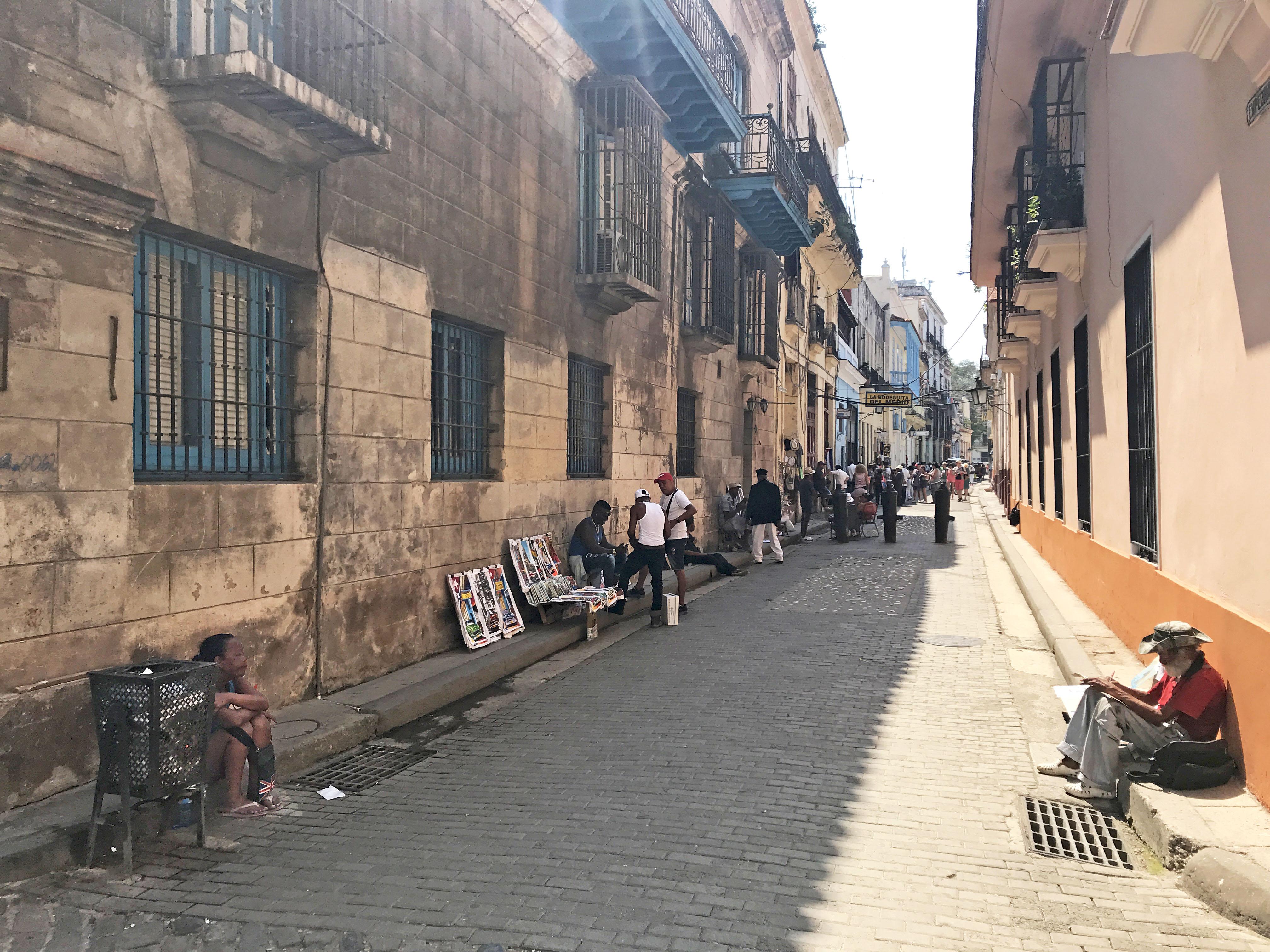 Один момент из жизни старенькой Гаваны