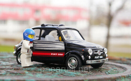 Kinsmart Fiat 500