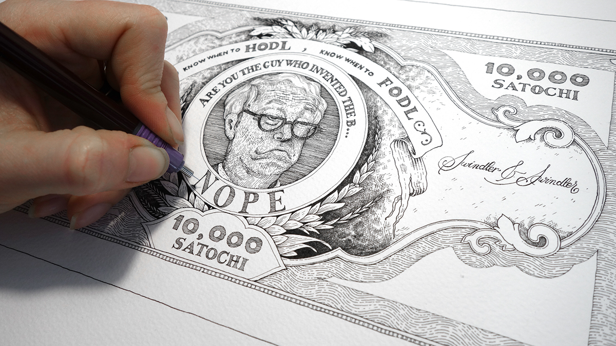 Funny And Creative Bitcoin Bills (25 pics)