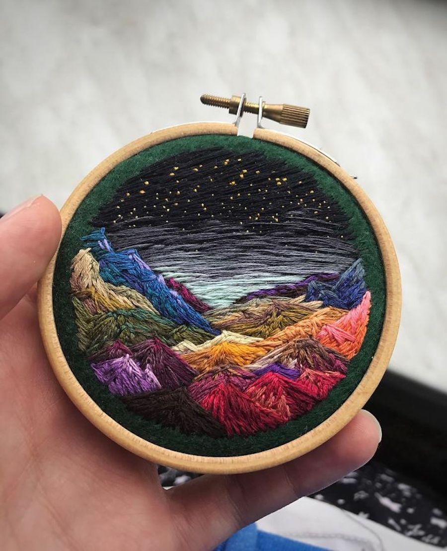 Lovely Landscape Embroidery