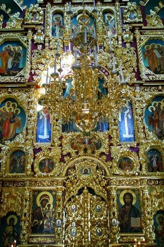 Церковь Троицы Живоначальной в Троицком-Лыково. Иконостас.