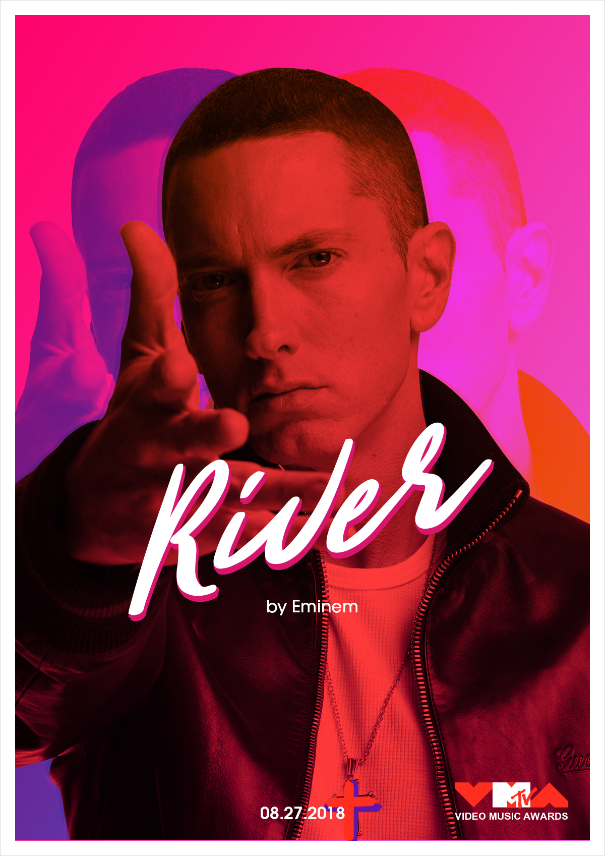 Bright and Colourful MTV Video Music Awards Posters
