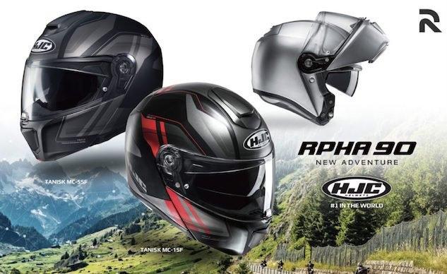 Новый модуляр HJC RPHA 90