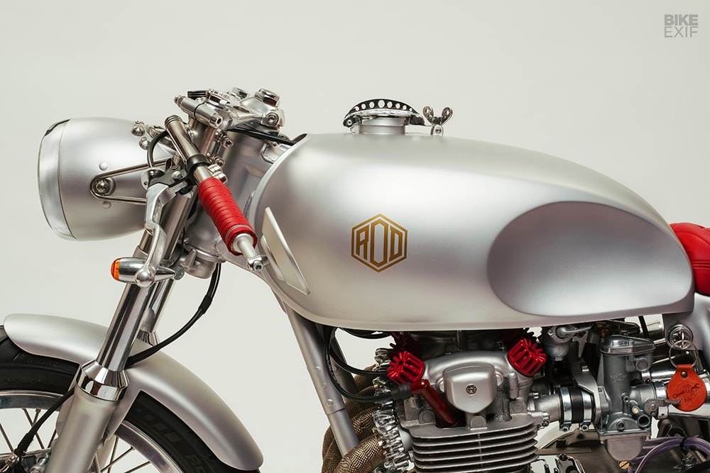 Rod Motorcycles: кафе рейсер Honda CB500