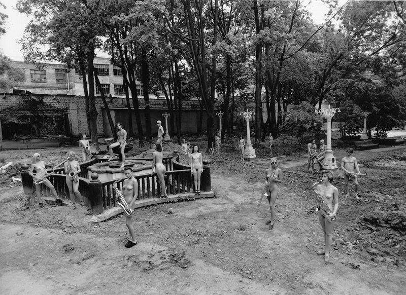 Однажды в саду Эрмитажа