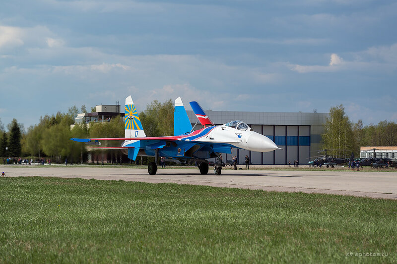 Сухой Су-27С (17 синий) ВКС России D803306