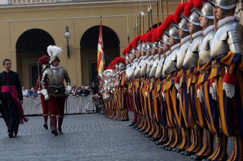 The Vatican's Swiss Guard Are Sworn In