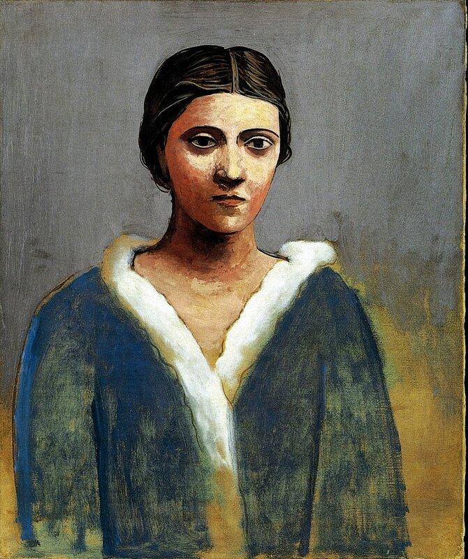 PIC - 0248 -- 1923 Portrait de femme au col d'hermine (Olga).jpg