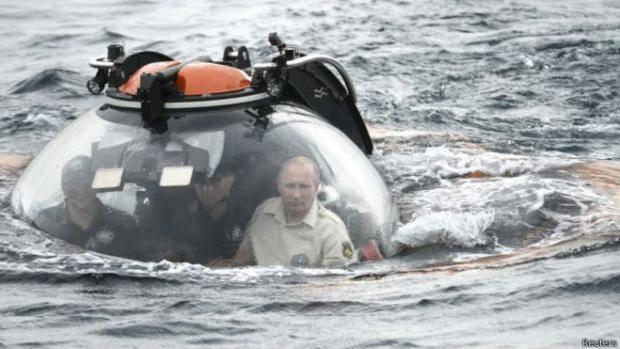На место преступления: Путин прибыл в оккупированный Крым