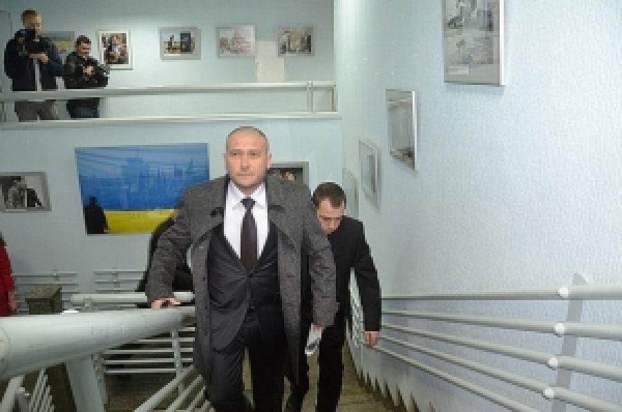 Дмитрий Ярош берет на поруки политзаключенным'узницы Юрия Сиротюка
