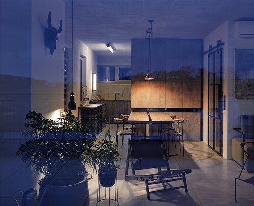 Квартира в стиле лофт в Праге