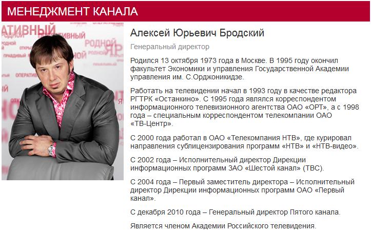 Алексей Юрьевич Бродский