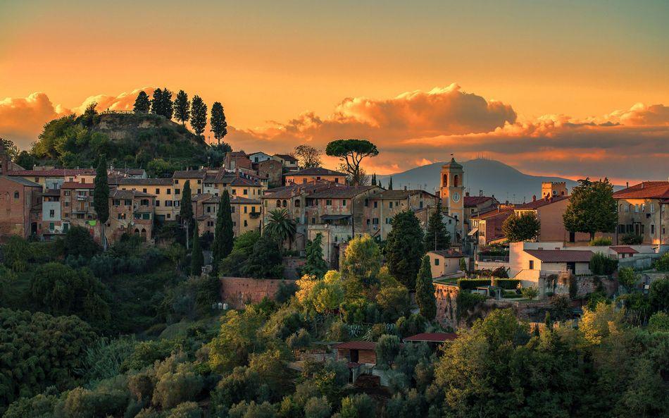 Италия, Тоскана, городской пейзаж