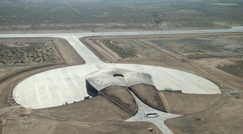 Первый в мире космопорт в Нью Мексико