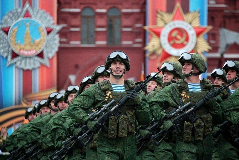 Как прошел День Победы на Красной площади