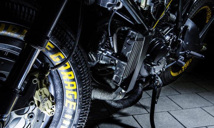 Ducati 750 SS Kraken - настоящий эксклюзив. Для того чтобы сделать этот байк по-настоящему эксклюзив