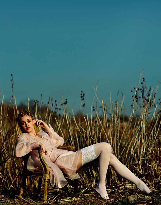 Фотосессия в онлайн-версии Vogue Brazil