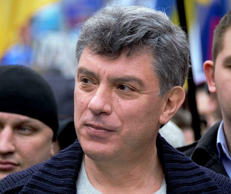 В русском Ярославле повторно открыли мемориальную табличку Бориса Немцова