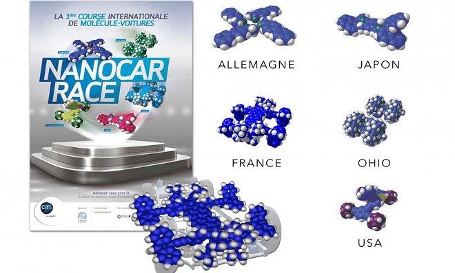 ВоФранции будут транслировать первые вмире гонки наномобилей