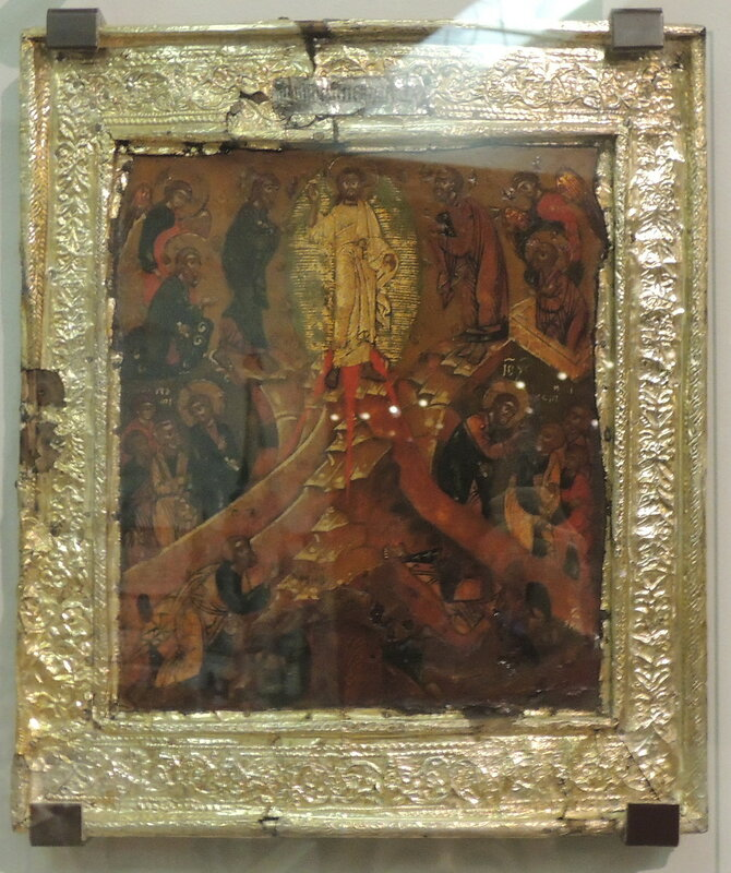 Transfiguration (1636 gift to Ivan Mikhailovich, GIM)