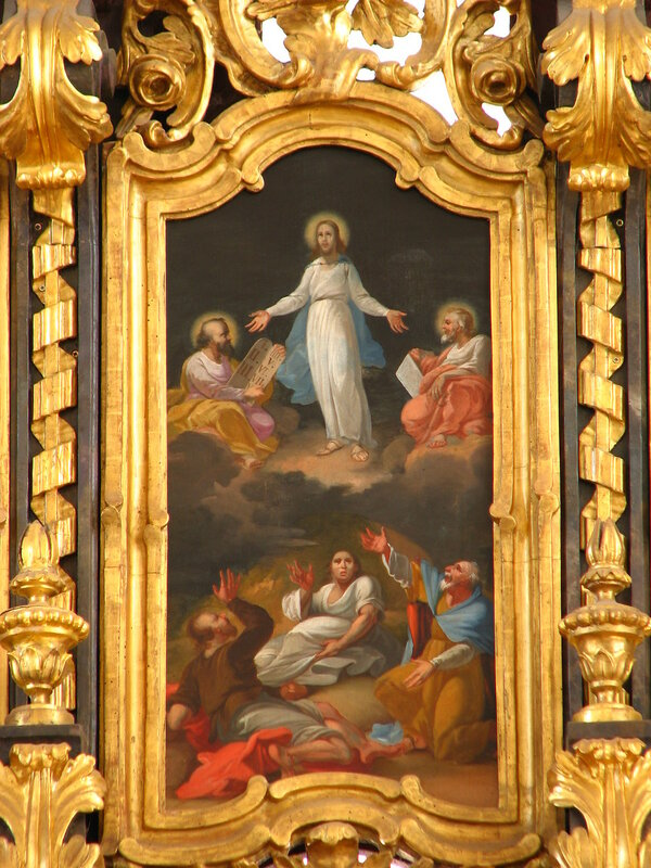 Transfiguration of Christ Hajdudorog Frame