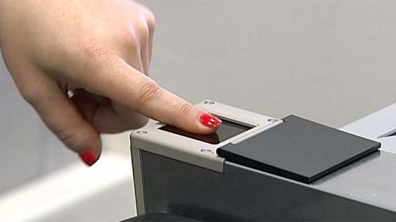 Российские паспорта с отпечатками пальцев. Проект дактилоскопических паспортов