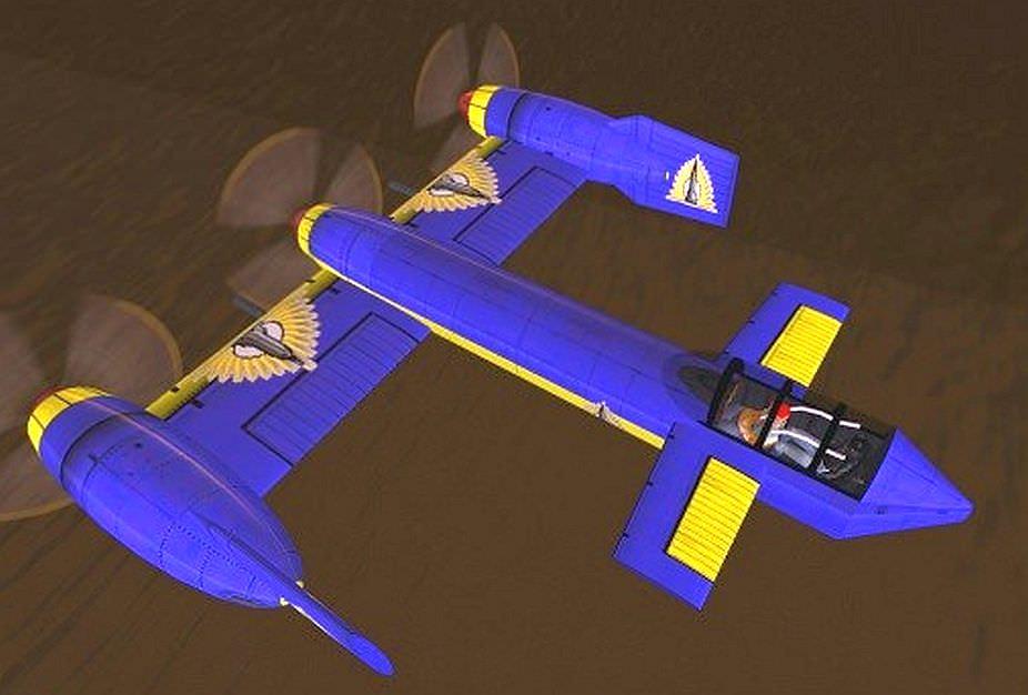 Как сделать самолёт из картона модель 603
