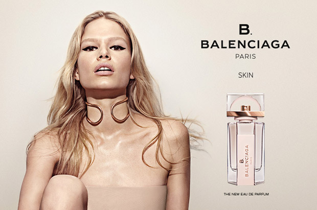 Anna Ewers for B.Balenciaga Fragrance 2015
