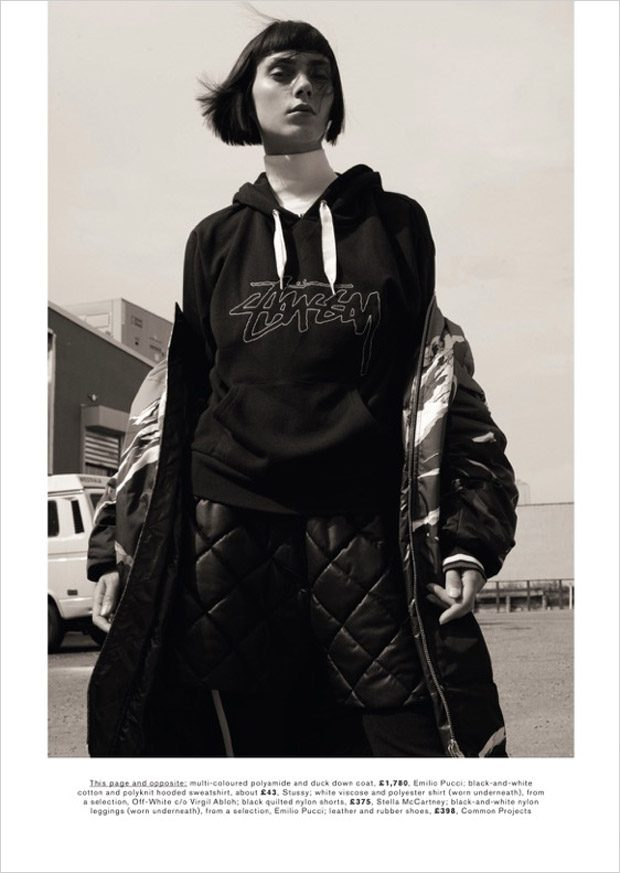 Rise of the Oversize with Agnes Sokolowska for Marie Claire UK