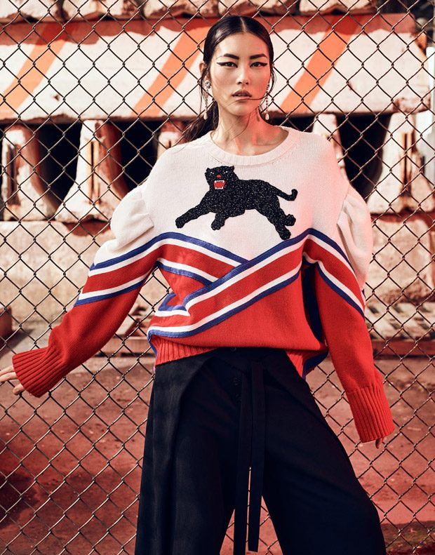 Liu Wen Changes the Perception of Beauty for The Edit Magazine