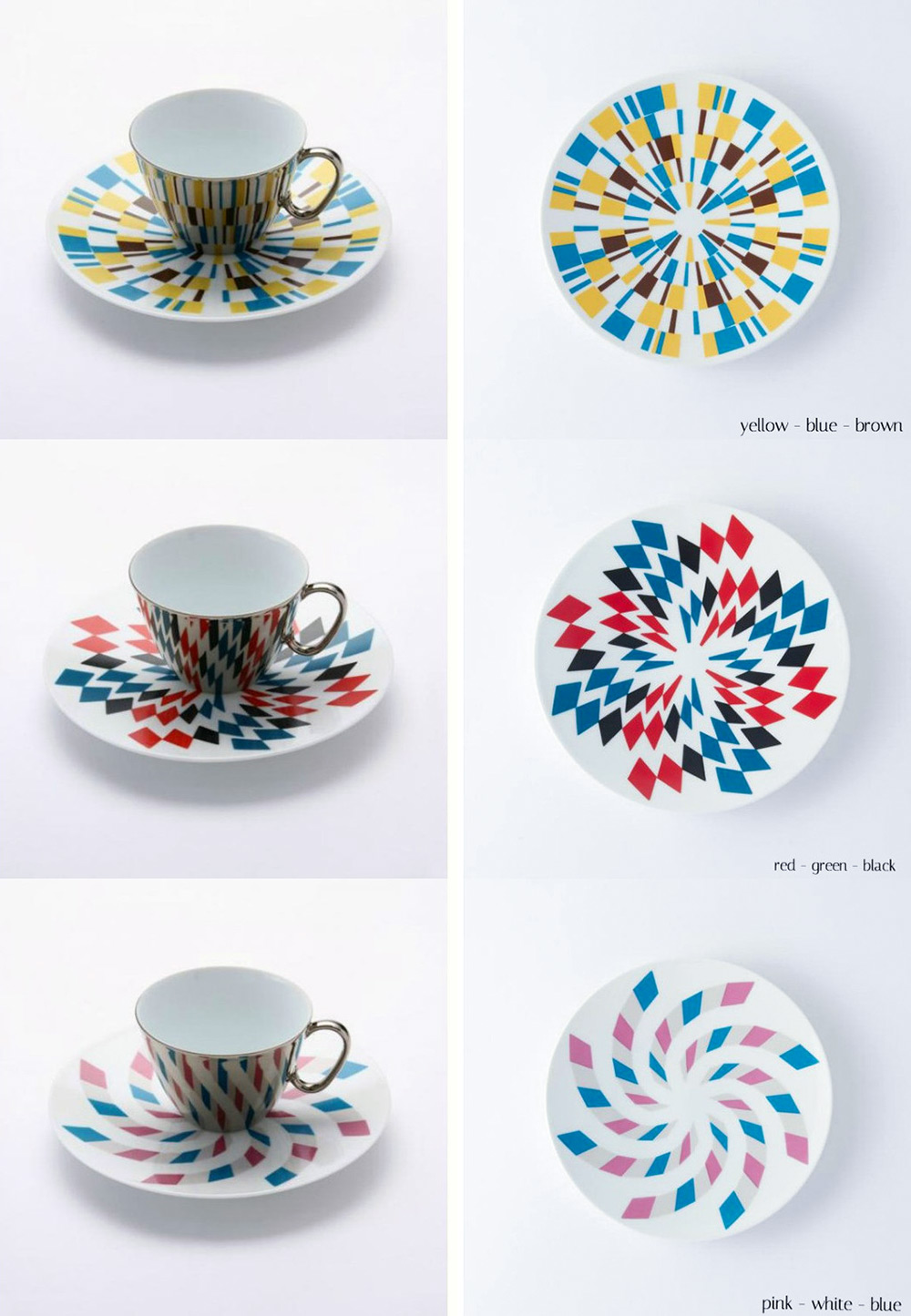 Created by Japanese design brand D-Bros ( previously ) these carefully hand-crafted coffee/tea mugs