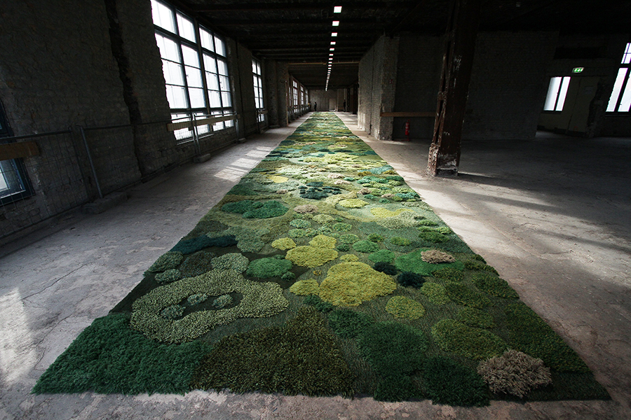 New One-of-a-Kind Landscape Rugs by Alexandra Kehayoglou