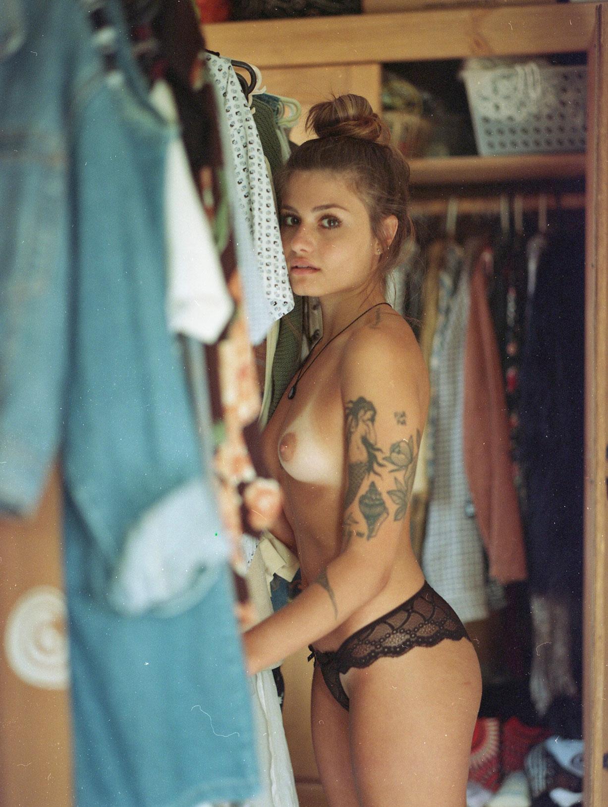 Стефани Грацки / Stefanie Graczcki nude by Neto Macedo - B-Authentique Magazine