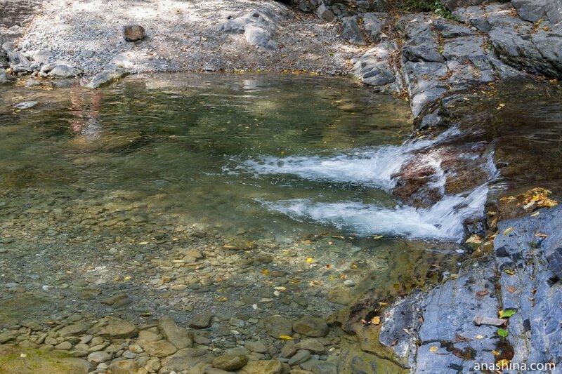 Водопадики, Корыта, Дагомыс