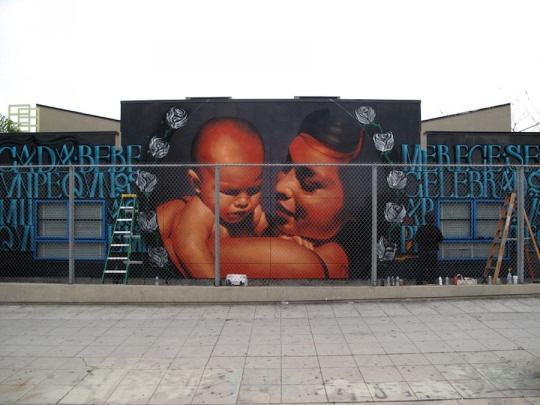 Stunning Street Artworks by El Mac