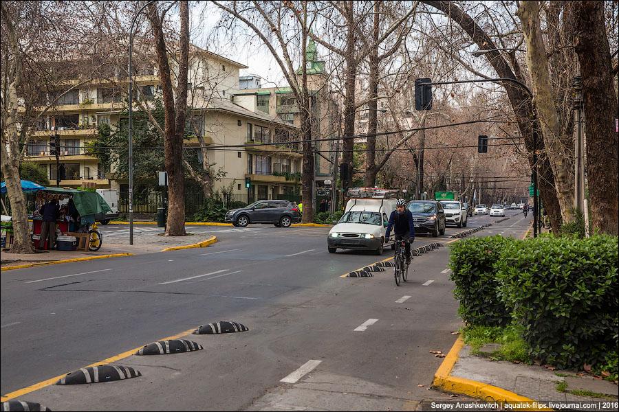 Крутые чилийские велодорожки