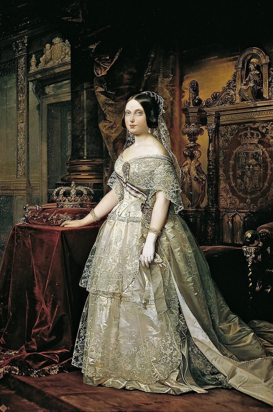 1844_Портрет Изабеллы II (Retrato de Isabel II)_х.,м._Мадрид, Королевская академия изящный искусств Сан-Фернандо.jpg