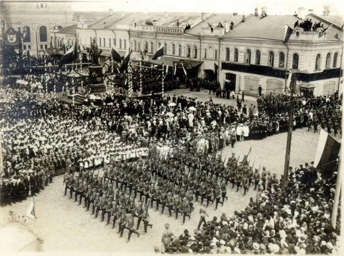 Памятник Александру II. Открытие памятника.1914