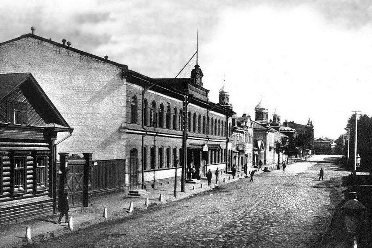 Театральная улица у Мыркинских бань